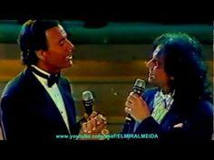 ROBERTO CARLOS & JULIO IGLESIAS - SOLAMENTE UNA VEZ 1989 (Mexico Canal Del Las Estrellas)-HD - YouTube