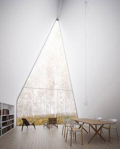 Une vue imprenable pour cette maison au design anguleux