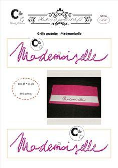 Grille gratuite - Mademoiselle