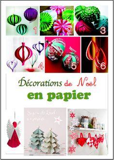 décorations en papier