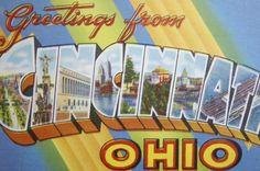 Ben? Cincinnati vintage postcards