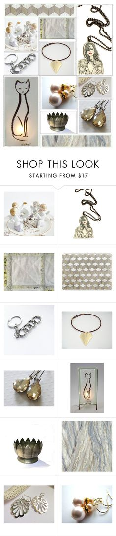 """Subdued Beauty"" by whimzingers ❤ liked on Polyvore featuring vintage"