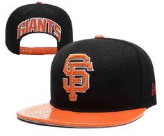 c847b73730e MLB San Francisco Giants Black Snapback Hats--YD Leather Snapback