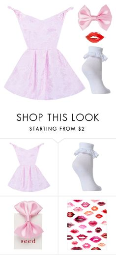 """""""Spinning Like A Ballerina"""" by doe-eyed-nymphet ❤ liked on Polyvore featuring WALL, nymphet and nymphetfashion"""