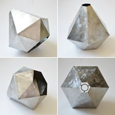 Новые формы для подвесного светильника из серии PolyLight. Как всегда только металл.  #полигональныефигуры #освещение #дизайнинтерьера #декор #интерьер #loft #interiordesign #polygonart #polylight #moskow #spb #design  #kenlamp