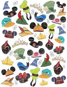 The many hats of Disney