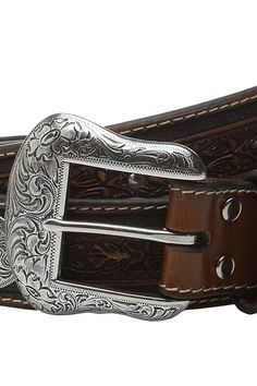 M&F Western Large Oval Concho Embossed Belt (Brown) Men's Belts - M&F Western, Large Oval Concho Embossed Belt, N2510208, Apparel Bottom Belts, Belts, Bottom, Apparel, Clothes Clothing, Gift, - Street Fashion And Style Ideas
