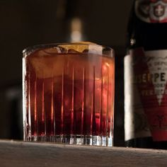 "The inside scoop on the Negroni with balsamic vermouth sipped by Stanley Tucci on ""Searching for Italy."""