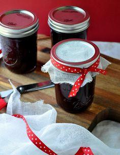 Sweet Cherry & Cabernet Sauvignon Jam - from @Farmgirl Gourmet
