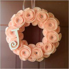 initial wreaths for front door | Wreathink Gifting
