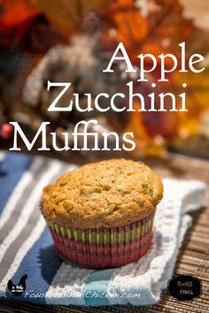 Apple Zucchini Muffins recipe!