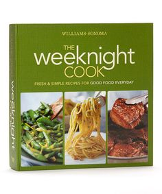 Take a look at this The Weeknight Cook Spiral Bound Book by Williams-Sonoma on #zulily today!