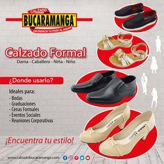 Encuentra tu #estilo de #calzado formal con Calzado Bucaramanga.  Especiales para #bodas #graduaciones #cenasformales #eventossociales #reunionescorporativas  www.calzadobucaramanga.com
