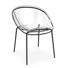 Quick Ship: Bloom Metal Base Chair