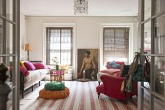 Alayne Patrick of Layla sitting room in Brooklyn | Remodelista