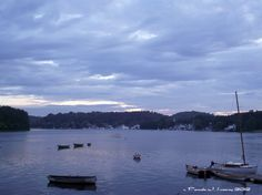 Daily Affirmations: Abundance  Photo: Sunset on the Merrimack River