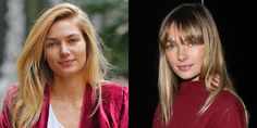 First it was Behati, now Jessica Hart. It seems Brigitte Bardot bangs are having a major moment. Will the long, face-framing style be the next lob?   - ELLE.com