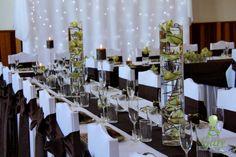 Svadobná výzdoba. Wedding decorations.