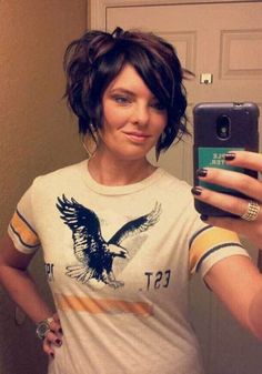Most Attractive Short Hairdos For Women Style 14