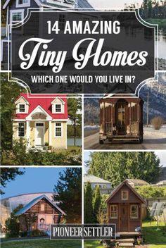 14 Amazing Tiny Homes