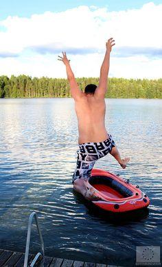 Photo 2014, Marjut Hakkola Family Holiday, Trunks, Swimming, Water, Swimwear, Stems, Water Water, Bathing Suits, Aqua