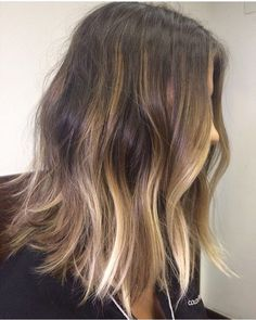 balayage hair color ideas for brunettes in 2019 43 – nothingideas Hair Color Balayage, Blonde Balayage, Hair Color And Cut, Stylish Hair, Hair Day, Gorgeous Hair, Hair Looks, Her Hair, Wavy Hair