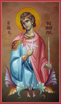 Αφιέρωμα: Ο Άγιος Μεγαλομάρτυρας Φανούριος    (27 Αυγούστου)  Σοφία Ντρέκου   Περιεχόμενα: