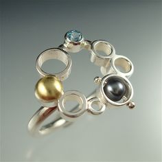 Ring of Bubbles (RAD 39) by Danielle Miller Jewelry