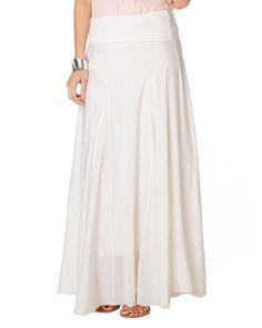 All New Arrivals   White Atlanta Maxi Skirt   Phase Eight
