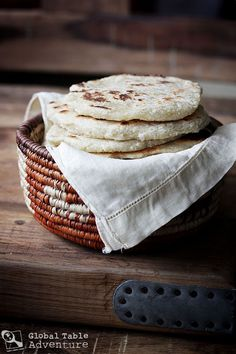 Global Table Adventure | Recipe: Coconut Roti