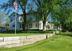 Senator Edwin C. Pinney House  1860 Colonial  Stafford, Connecticut