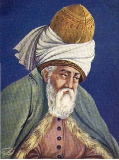 Rumi – Rumi was a Sufi mystic and poet. Born near modern day Afghanistan, he settled in modern day Turkey. Rumi's poetry speaks of the Divine romance between seeker and God. Poem About Death, Jalaluddin Rumi, Persian Poetry, Persian Culture, Turkish Art, Hafiz, Rumi Quotes, Spiritual Teachers, Finding True Love