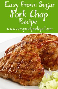 This quick and easy recipe is… Unbelievable Brown Sugar Glazed Pork Chops Recipe. This quick and easy recipe is so simple to make and absolutely delicious! Brown Sugar Pork Chops, Glazed Pork Chops, Boneless Pork Chops, Glaze For Pork Chops, Oven Baked Pork Chops, Crock Pot Pork Chops, Breaded Pork Chops, Easy Pork Chop Recipes, Pork Recipes