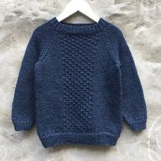 Image of Carl Sweater Str. Baby Boy Knitting Patterns, Baby Cardigan Knitting Pattern, Knitting For Kids, Boys Sweaters, Pulls, Image, Diy Crafts, Design, Nightgown Pattern