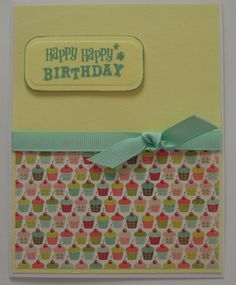 another simple b-day card