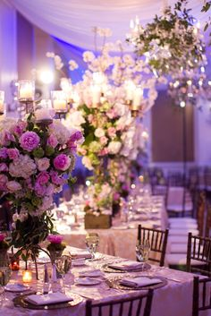 Picture perfect! We can't get enough of this reception centerpiece! #bflive Bella Flora of Dallas-www.bellafloraofdallas.com