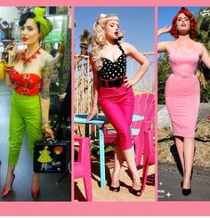 LOVE these vintage inspired clothes!