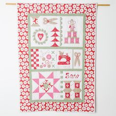 Mandy Shaw's Sew with Love Quilt Kit | sewandso