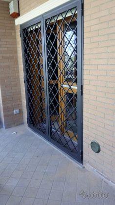 Door Grill, Grill Door Design, Door Gate Design, Window Grill, Balcony Railing Design, Industrial Living, Kitchen Doors, Green Rooms, Exterior Design
