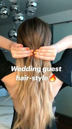 Work Hairstyles, Easy Hairstyles For Long Hair, Hairstyles For Beach, Easy Ponytail Hairstyles, Long Straight Hairstyles, Cute Quick Hairstyles, Hairstyle Hacks, Long Hair Cuts, Popular Hairstyles