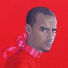 Salustiano Garcia Cruz - Contemporary Artist - Spain - Red - Como Si No Pasara el Tiempo Nº 5 Detail.