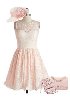 """""""Fairytale Princess!!"""" by pink1princess ❤ liked on Polyvore featuring Chanel, Chi Chi, Michael Antonio and Brooks Brothers"""