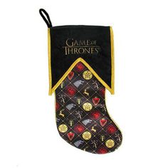 Game of Thrones 19-Inch Christmas Stocking - Kurt S. Adler - Game of Thrones - Holiday Decor at Entertainment Earth