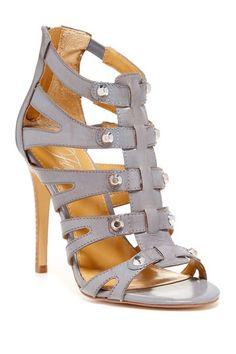 Ryan High Heel Sandal by Fergie on Fab Shoes, Cute Shoes, Me Too Shoes, Caged Sandals, Shoes Sandals, Strap Sandals, Look Fashion, Fashion Shoes, Fashion Ideas