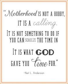 No matter how big my kids get, I still believe this is true.