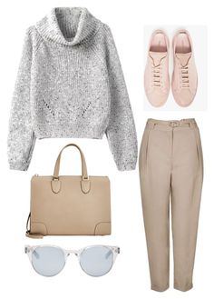Spring Outfit #21 by kita0996 on Polyvore featuring мода, Common Projects, Valextra and Sun Buddies