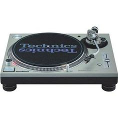 Hands down the best turntables - Technics SL1200MK5.  I have 2 myself and LOVE THEM!