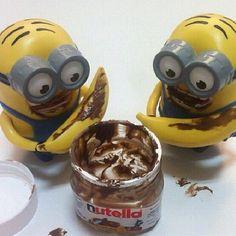 Awesome minion Nutella