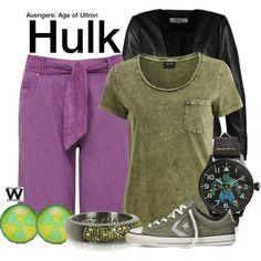 Inspired by Mark Ruffalo as Hulk in the Marvel/Avengers film franchise.
