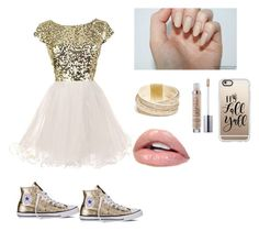 """""""Sans titre #23"""" by eyamode ❤ liked on Polyvore featuring Converse, GUESS and Casetify"""